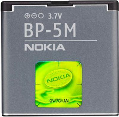 Аккумулятор Nokia BP-5M (900 mAh) Original