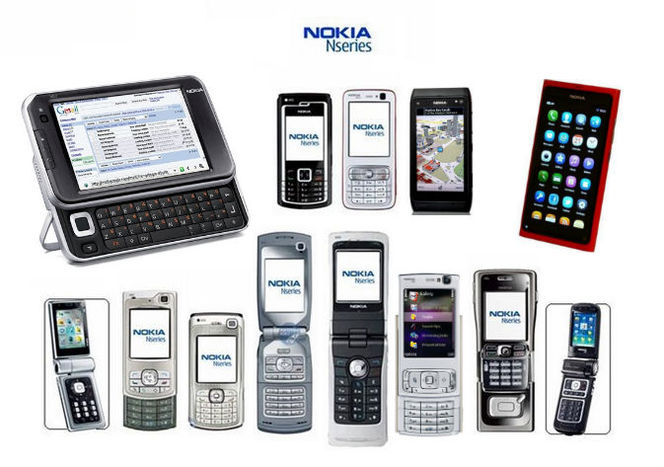 Корпуса для Nokia Nseries